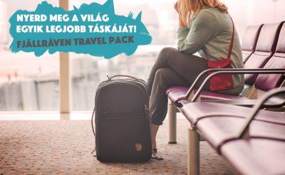 Nyerd meg a világ egyik legjobb utazós táskáját!