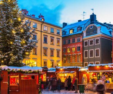 3 napos Karácsonyi városlátogatás Stockholmban!