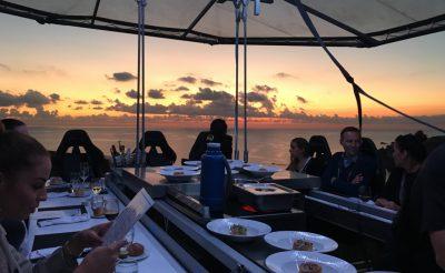 Abszolút bakancslistás vacsorahelyszín Máltán:  Dinner in the sky